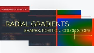 CSS3 Radial Gradient - Shape, position, color-stops