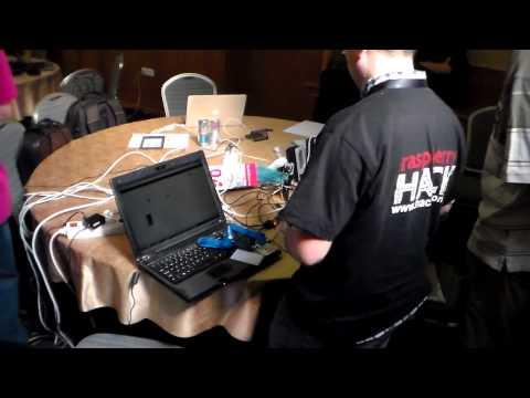 Raspberry Hack 2013 - video 1