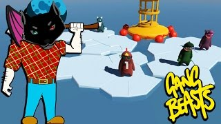 THAT OFFENSIVE EPISODE | Gang Beasts Online Funny Moments Part 23
