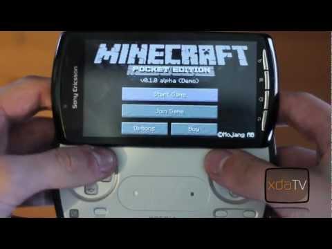 App Review - Minecraft Pocket Edition - XDA TV