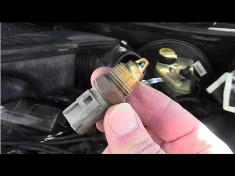 How To Remove Install Intake Air Temperature Sensor On