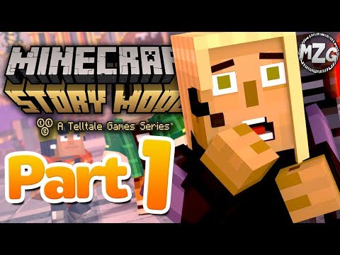 Champion City DESTROYED!? - Minecraft: Story Mode Season 2: Episode 5 - Part 1 (Above and Beyond)