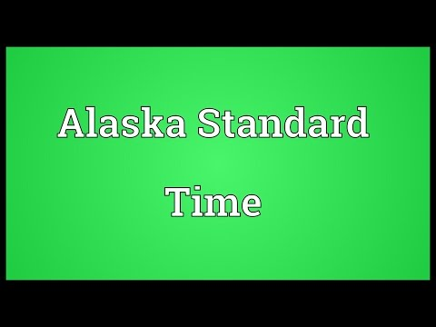 Header of Alaska Standard Time