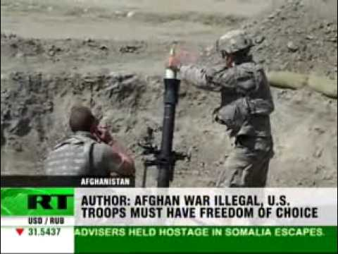 Afghan War Illegal - U.S. Troops Violate Oath to Constitution
