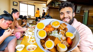 LIVING with SUMO WRESTLERS for a DAY in TOKYO (10,000-Calorie Diet)