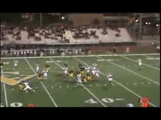 George Atkinson III football highlights jr year granada high school