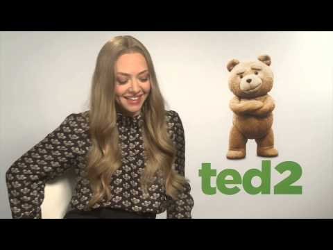 TED 2 interviews with Amanda Seyfried, Mark Wahlberg and Seth MacFarlane