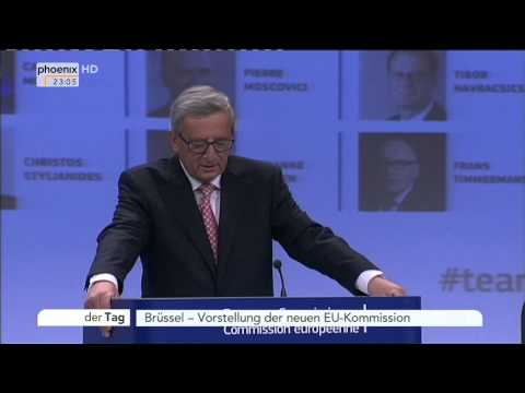 EU-Kommission: Jean-Claude Juncker zu den neuen Kandidaten am 10.09.2014