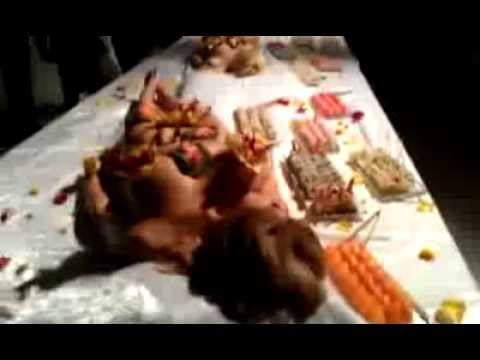 Sushi Studio Arts presents a Nyotaimori Body Sushi Pop