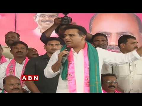 Minister KTR participates in TRS Activists Meeting at Ibrahimpatnam | ABN Telugu