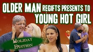 Older Man Regifts Presents to Young Hot Girl- Gagstravaganza Day 5