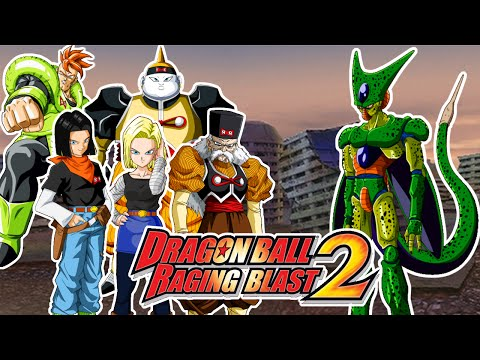 Dragon Ball Raging Blast 2 : Cell VS Androides (C16, C17 , C18 , C,19 , Dr Gero) El Gran Cell