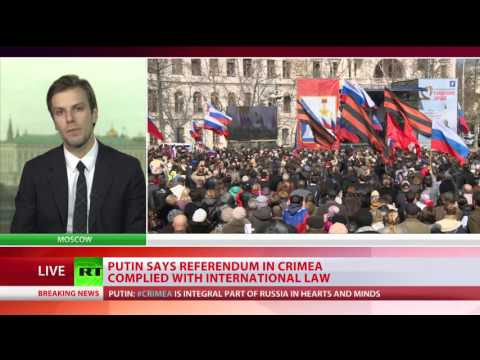 Crimea Joins the Russian Federation March 2014