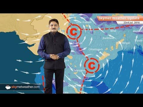 Weather Forecast for July 23: Good rains in Delhi, UP, Bihar, MP, Rajasthan, Northeast