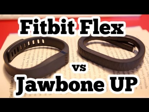 Fitbit Flex vs Jawbone UP Review and Comparison