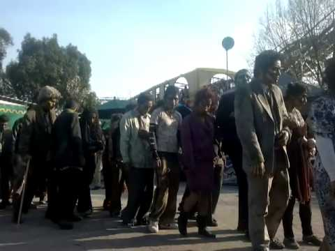 Invasion Zombie en la Feria de Chapultepec Terror Experience III