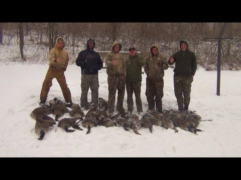 Goose Hunting 2012 Pennsylvania