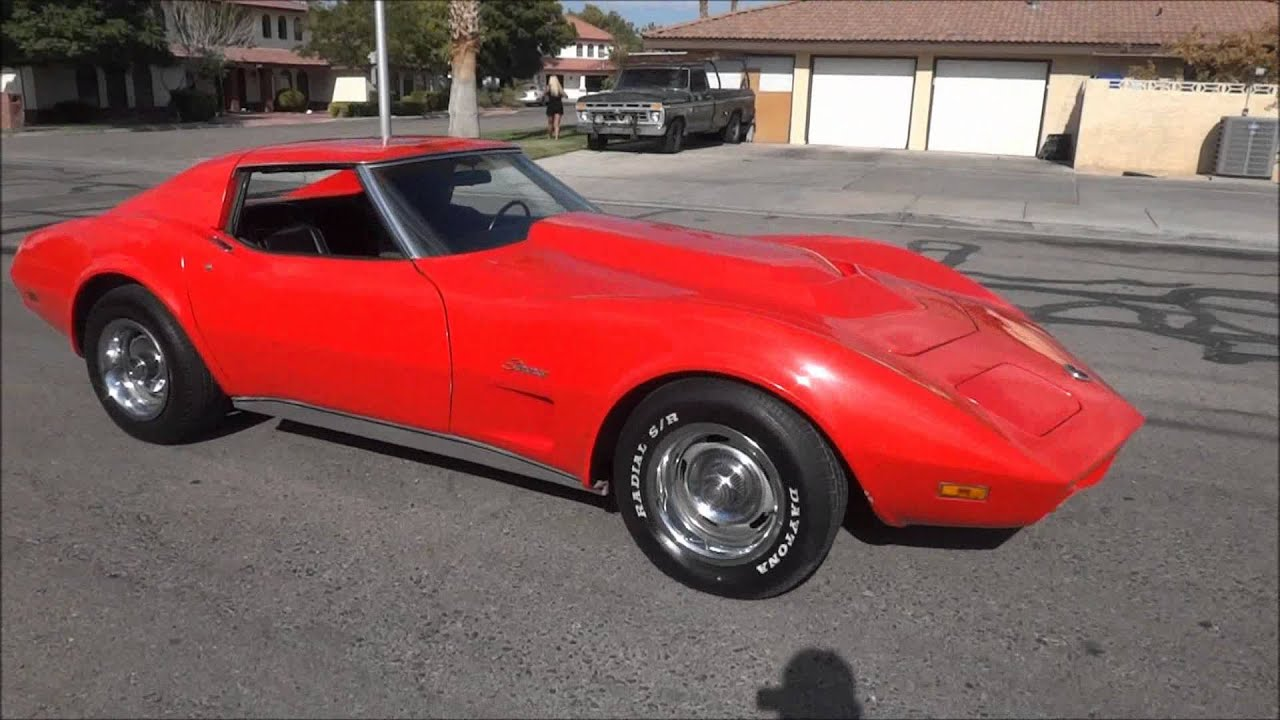 1974 Corvette 454 Matching Numbers Stingray Youtube