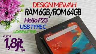 HP Gaming Baru 1 Jutaan Fiturnya Lengkap RAM 6GB/64GB   Unboxing & Review Gome U9