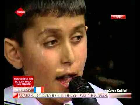 Ahmet SEZGİN-Arguvan Ezgileri programından Agır yürü şalın düşer belinden