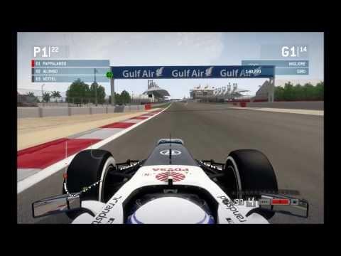 F1 2013  modalità carriera  gara del Bahrain