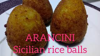 ARANCINI // SICILIAN RICE BALLS