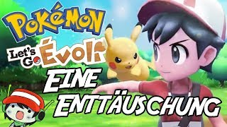 Pokemon Let's Go - Eine Enttäuschung