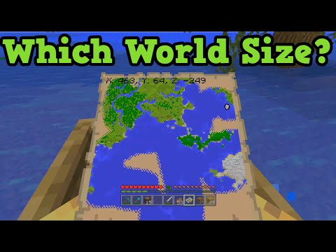 Minecraft Xbox One + PS4 - Which World Size? Classic Small Medium or Large?