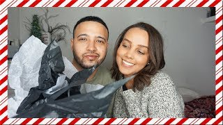 BOYFRIEND BUYS GIRLFRIEND CHRISTMAS OUTFIT!!