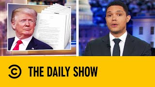 Whistleblower Complaint Is Bad News For Trump | The Daily Show With Trevor Noah