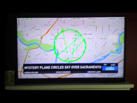 "UPDATE:Sacramento, CA People report seeing a strange ""Mystery Plane!"""