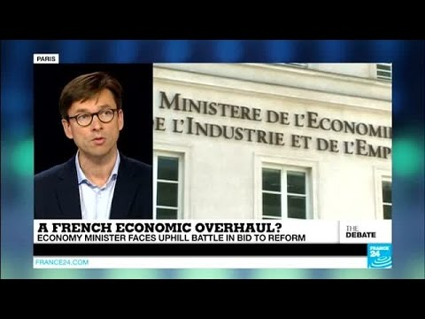 A French economic overhaul? Economy minister faces uphill battle in bid to reform (part 2)