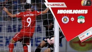 Văn Toàn lập công ở những phút cuối cùng giúp HAGL giữ lại được 1 điểm trước Hà Nội | VPF Media