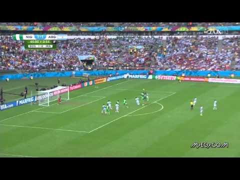 Argentina VS  Nigeria , Worldcup 2014