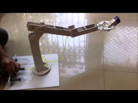 Hydraulic Manipulator Arm