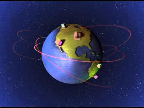 Animation Amazing Earth/Globe Moving Background