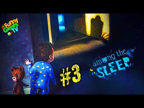 СИМУЛЯТОР МАЛЫША #3 детский хоррор в котором мы играем за маленькую девочку Among the Sleep