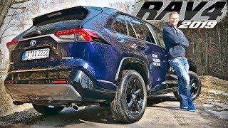 TOYOTA RAV4 2.5 L HYBRID 4X2 2019 in der Style Selection   Review und Fahrbreicht   Fahr doch