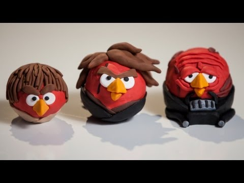 3 ANAKIN BIRDS Clay Model: EvanTubeHD Behind the Scenes ANGRY BIRDS STAR WARS