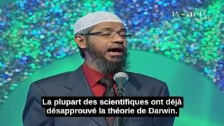 Dr Zakir Naik Confronte Un Athée (2/2)-Question Sur La Théorie De Darwin