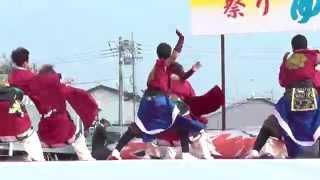将門yosakoi「響」さん「アクロス南駐車場」 結城舞祭2014