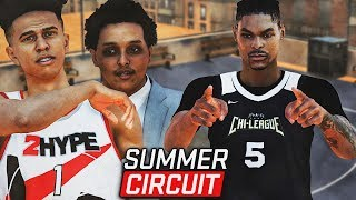 "NBA 2K19 MyCareer ""Summer Circuit"" #1 - I Dropped 60 On LSK & 2HYPE! Agent Beemstar Is The Coach!"