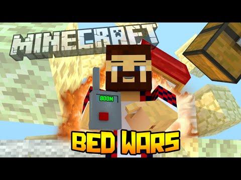 ПОДРЫВАЕМ ВРАГОВ - Minecraft Bed Wars (Mini-Game)
