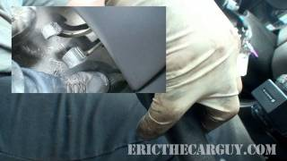How To Drive A Stick Shift - EricTheCarGuy
