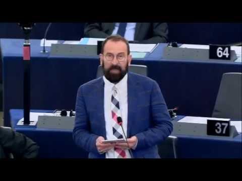 Szájer József beszéde az EP-ben - 2016.09.14.