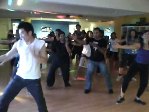 Flash Mob Masala Dance Rehearsal. video