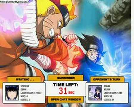 naruto arena private game