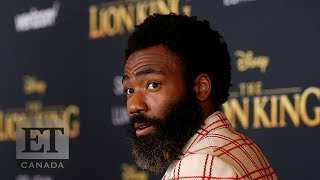 Donald Glover Cried While Filming 'The Lion King'
