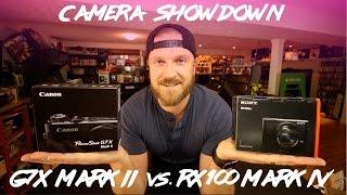Best Vlogging Camera 2016? - Canon G7x Mark II vs Sony Rx100 Mark IV