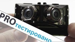 Тест обзор видеорегистратора с двумя камерами. Суперширокий угол  Ritmix AVR-787 DUO. (Pro Hi-tech)